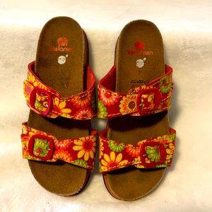 elefanten two strap Sunflower 🌻 sandals Sz.31